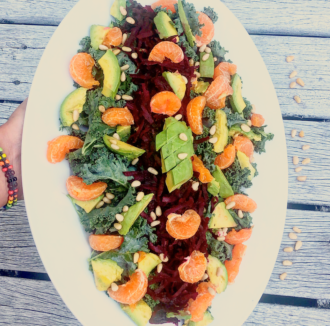 Colourful Kale Salad