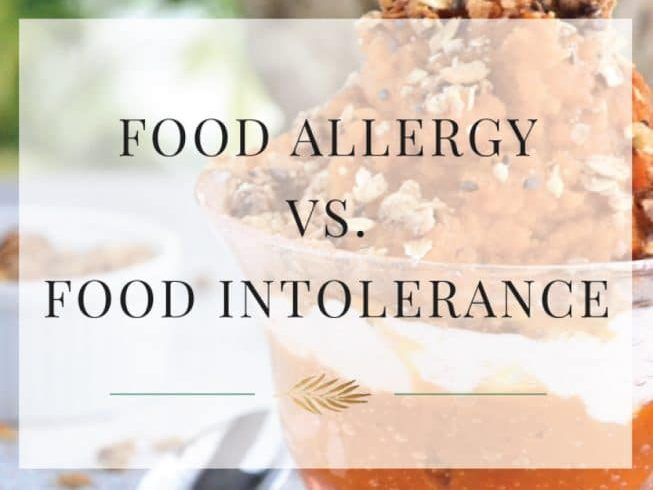 Allergy vs. Intolerance